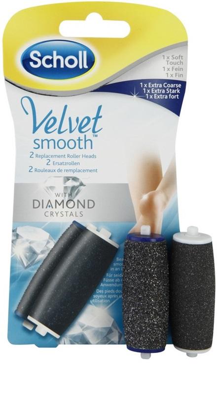 Cap de rezerva pila electronica picioare Scholl Velvet Diamond pentru pila electronica picioare Scholl Velvet Smooth