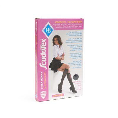 Ciorapi compresie forte pana la genunchi 140 DEN Scudotex 498