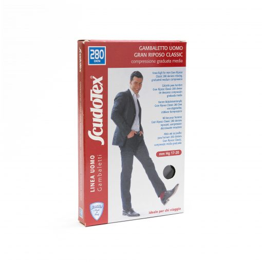 Ciorapi compresivi pentru barbati 280 DEN Scudotex S450