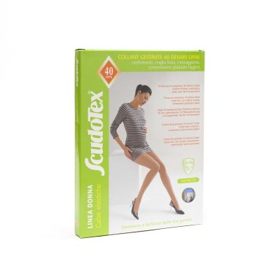 Ciorapi compresivi preventivi pentru gravide 40 DEN Scudotex 466