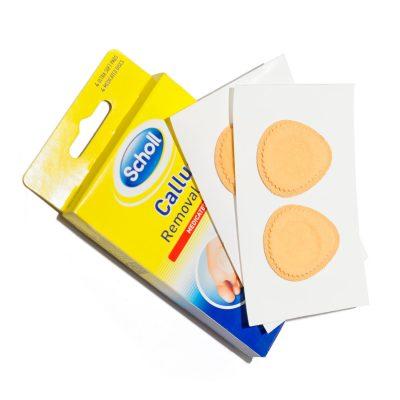 Plasturi pentru bataturi Scholl 4+4buc