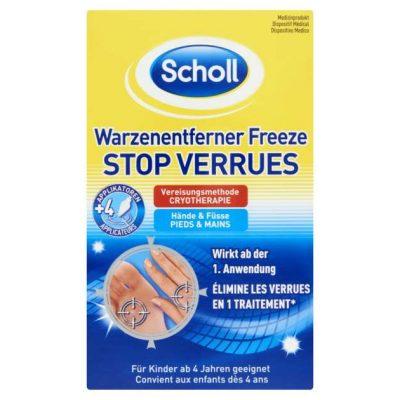 Scholl spray pentru indepartarea negilor si verucilor 80ml
